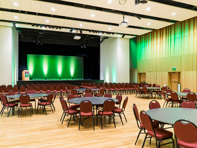 EMU 244   Ballroom   Scheduling and Event Services